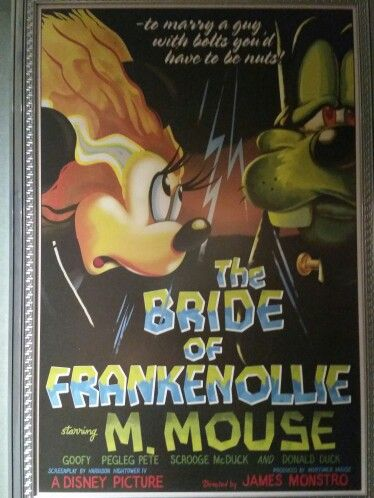 Minnie as the Bride