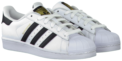 Witte ADIDAS Sneakers SUPERSTAR DAMES Adidas, Schoenen
