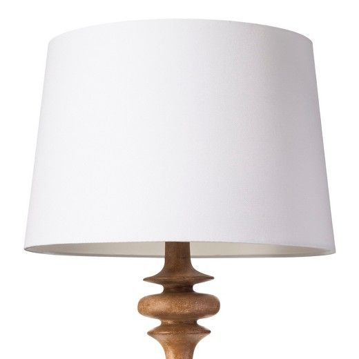 Add Simple Elegance To Any Room With This Threshold Lamp Shade In