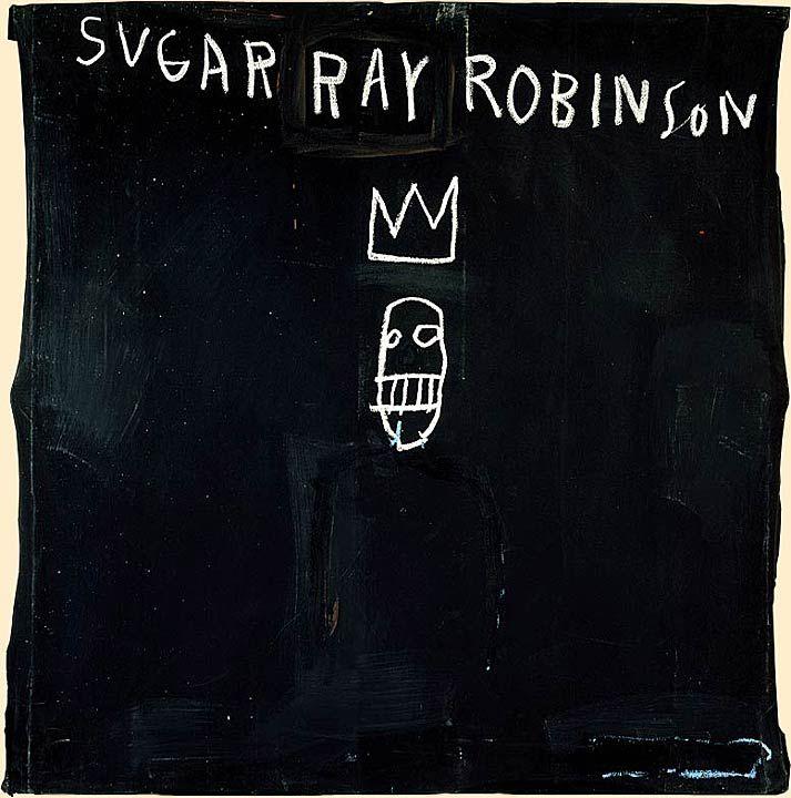 Basquiat: linhas fortes. Coroinhas