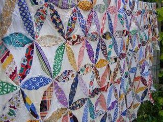 lovely scrap quilt top