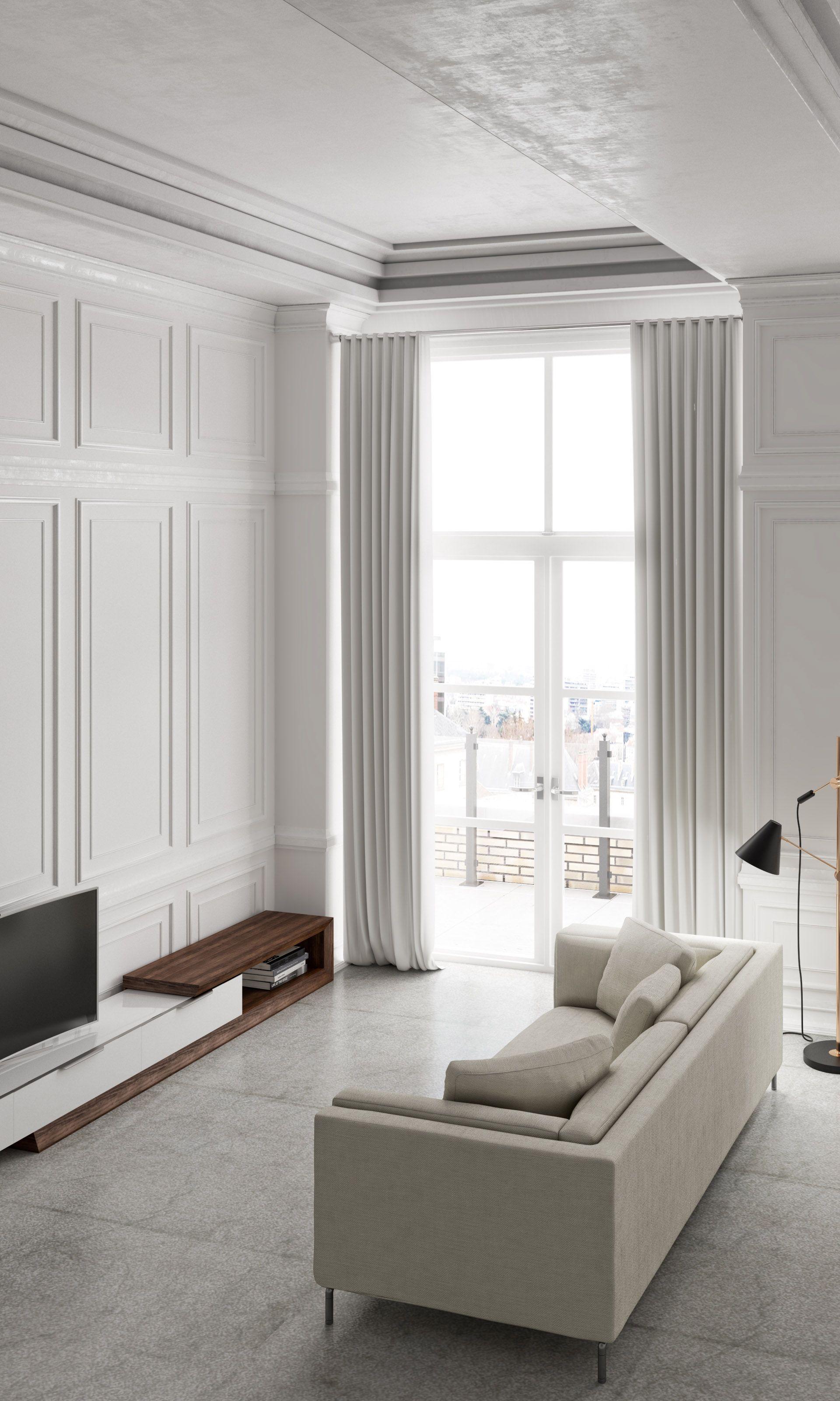 Winston Media Console | Rove Concepts Sandro Mid-Century Furniture ...
