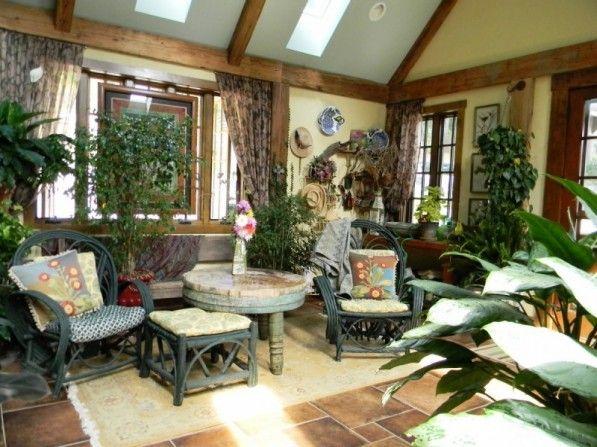 sunroom interiors. Sunroom Furniture, Interior Design, Furnitures - Interiors
