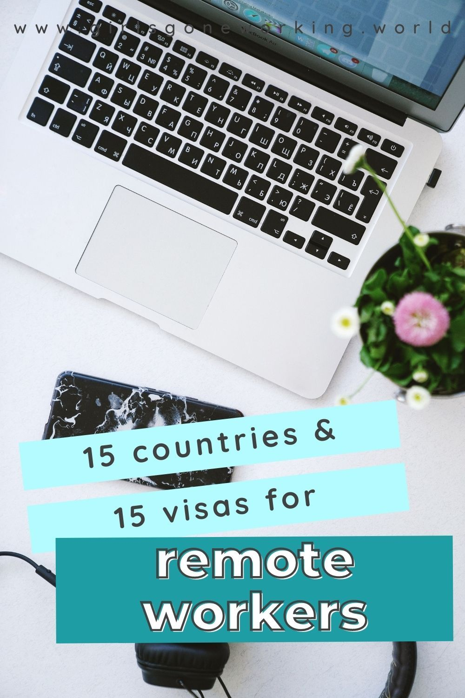 Remote Work Visa Guide For 2020 In 2021 Travel Jobs Work Visa Expat Life