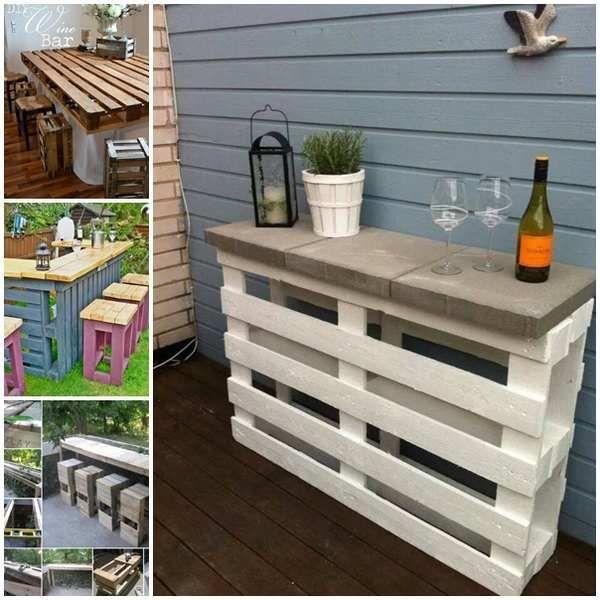 10 Idee Per Arredare Il Giardino Con I Pallet Tavolo Giardino