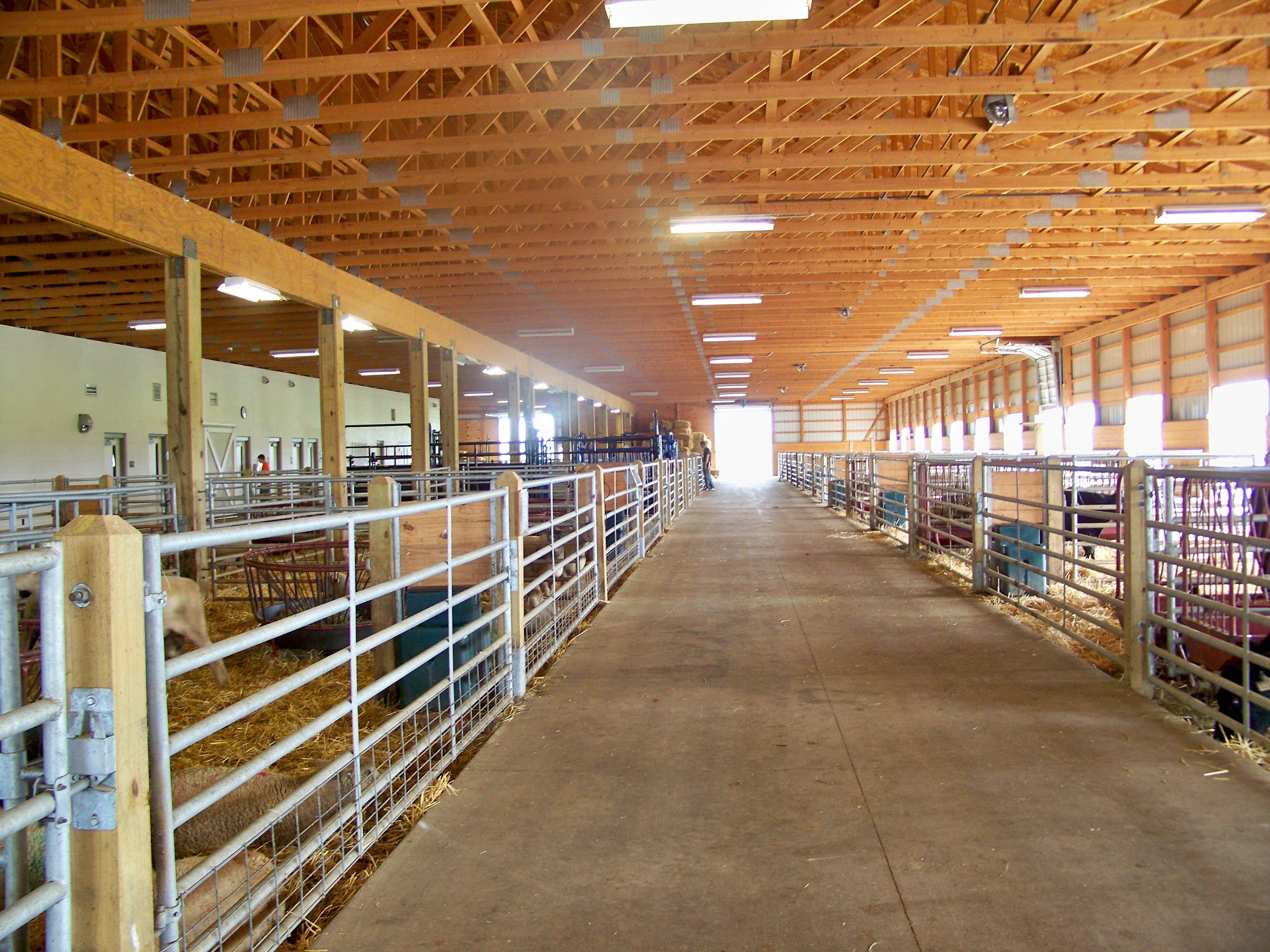 Animal Science Barn, The University of Findlay. Home for