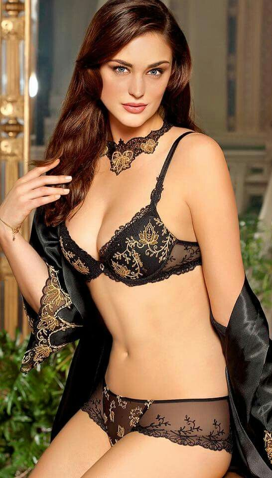 Pin on Super Sexy Models in Lingerie on iOS   Android d1c18b10c