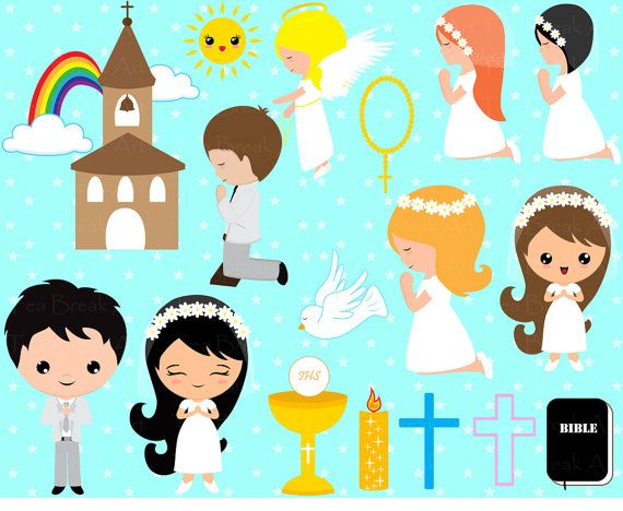 First Communion Boys clipart https://www.facebook.com/niniscraps ...
