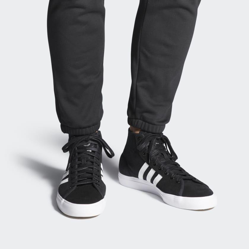 Matchcourt High RX Shoes Black B22786   Sneakers, Adidas