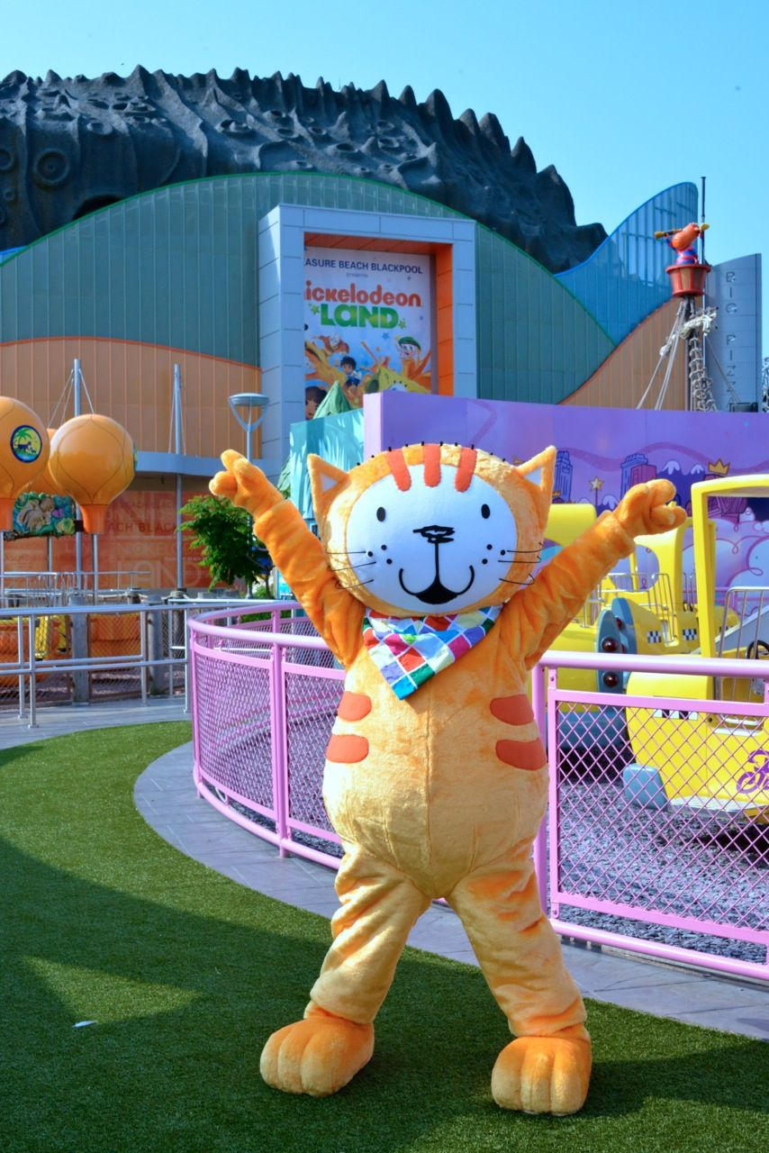 Come and join in the adventures with Poppy Cat at Nickelodeon Land, Blackpool Pleasure Beach this season! During the month of June Poppy Cat will be the headline character appearing every day with her own Copy Poppy dance routine, story time and the chance to join in the Poppy Cat Fitness Forest show!   More information available here: http://bit.ly/1t04zIi