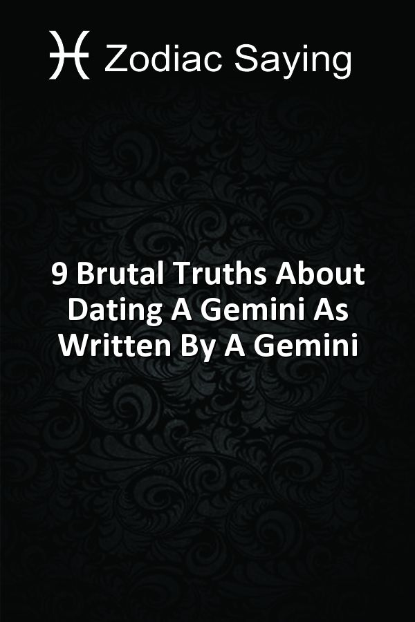 Brutal truth about dating an aries