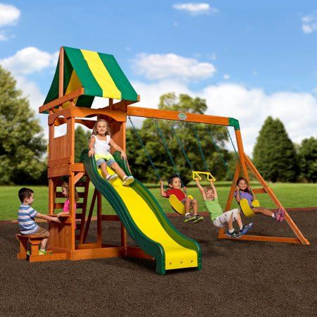 Backyard Discovery Weston Cedar Swing Set | #toys #outdoor ...