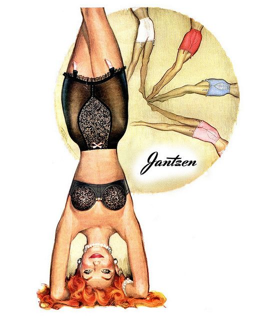 Jantzen   ... headstand