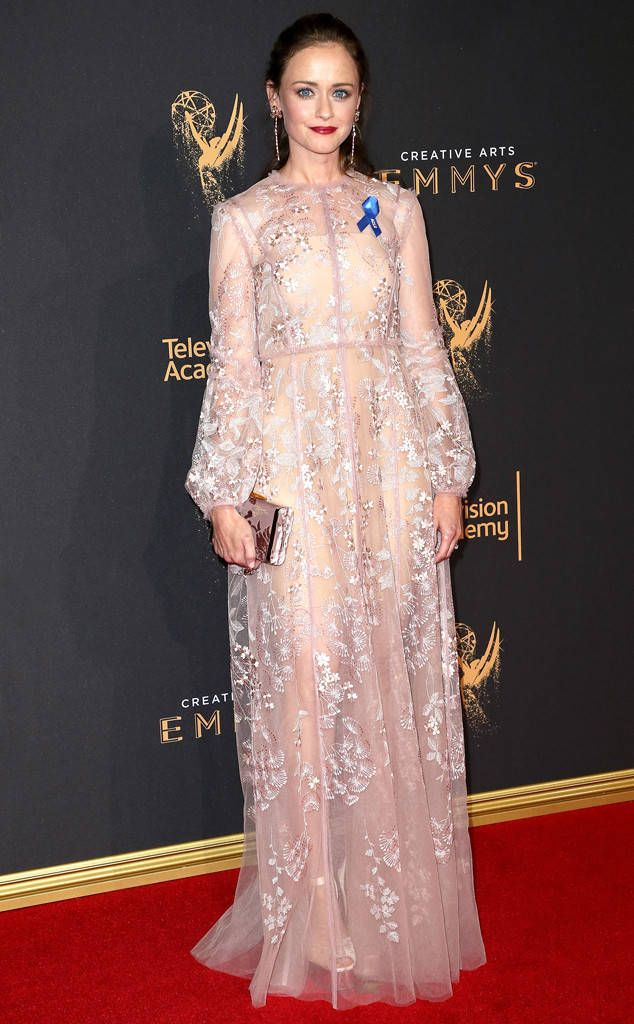 Alexis Bledel from Creative Arts Emmys 2017: Red Carpet Arrivals ...