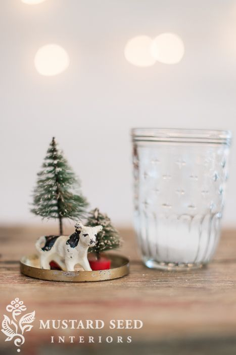 "mason jar ""snow globes"" - Miss Mustard Seed"
