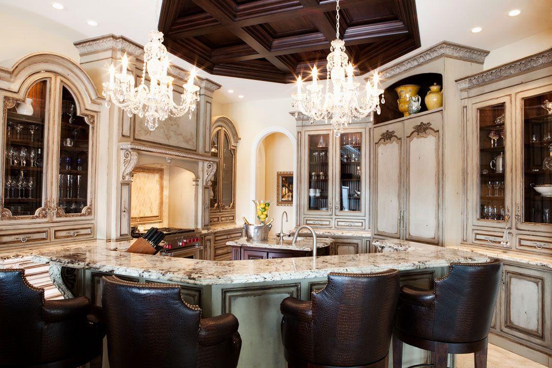 habersham custom kitchen cabinetry featuring venetian hearth range