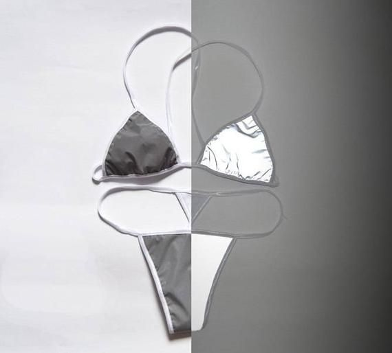 Светоотражающая полиэстерная ткань без подложки