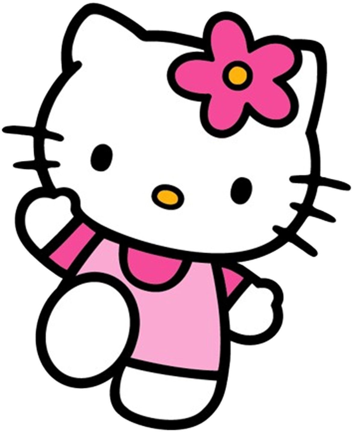 Hello Kitty Wall Stickers Pink Girls Room Art Decal
