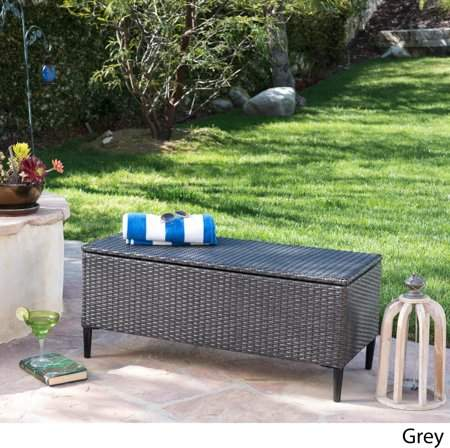 Christopher Knight Home Rupert Outdoor Wicker Storage Unit By