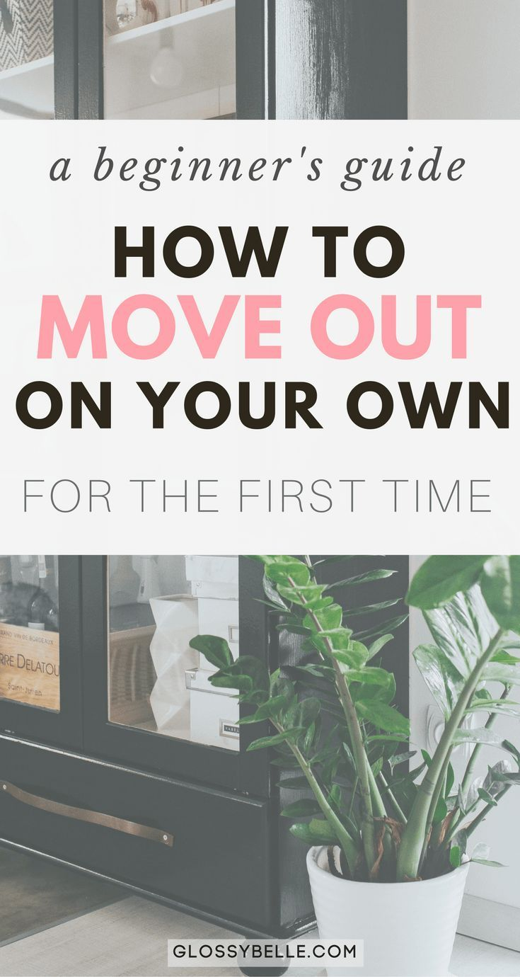 A Beginner's Guide: How To Move Out For The First Time On Your Own – Glossy Belle