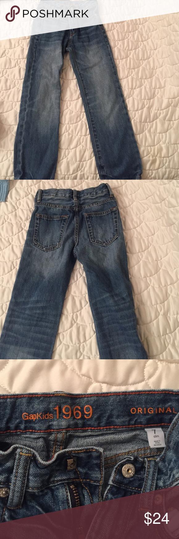 Boys Jeans slim fit Boys Gap Slim Fit Jeans GAP Bottoms Jeans