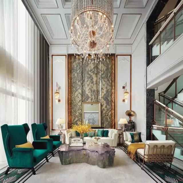 Living Hall Interior Design: Pin By Sallie On 空间 (With Images)