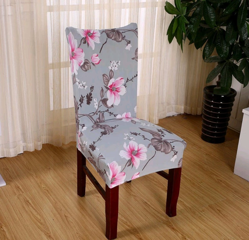 Elastic Chair Cover Removable Anti Dust Flexible Seat Case Slipcover For Weddings Banquet Hotel Dining Office Restaurant Coffee In 2020 Dining Room Chair Covers Dining Room Seat Covers Banquet Chair Covers