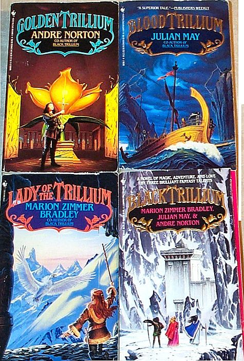Julian May Andre Norton M Books I Have Read Real Bookshold In