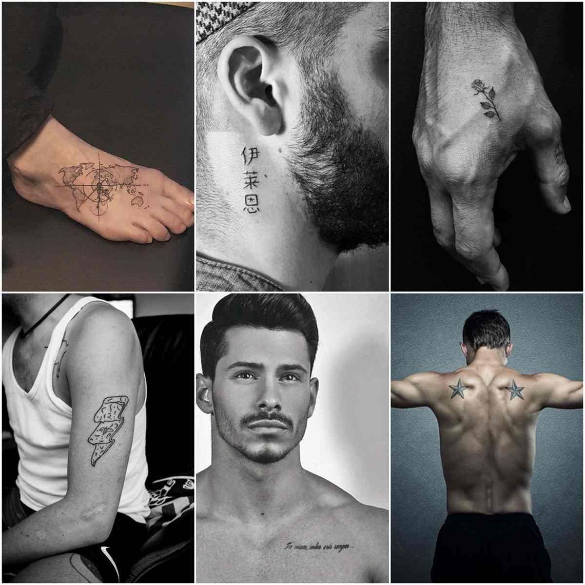 33++ Tatouage homme epaule discret trends