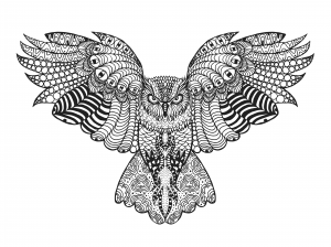 Coloring Pages For Adults Animal Coloring Pages Mandala Coloring Pages Owl Coloring Pages