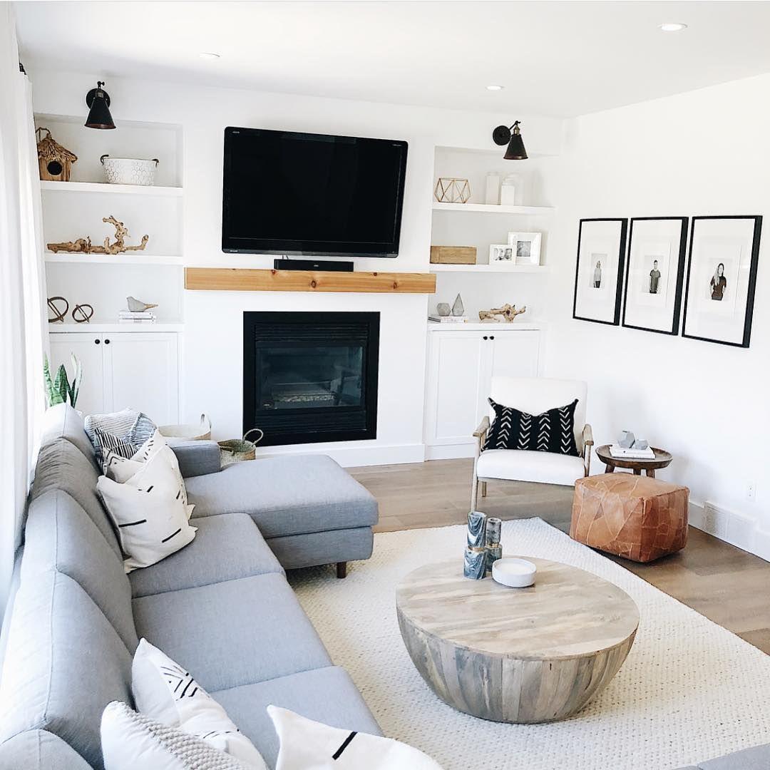 Inrichting kleine woonkamer appartement met open haard Inrichting kleine woonkamer