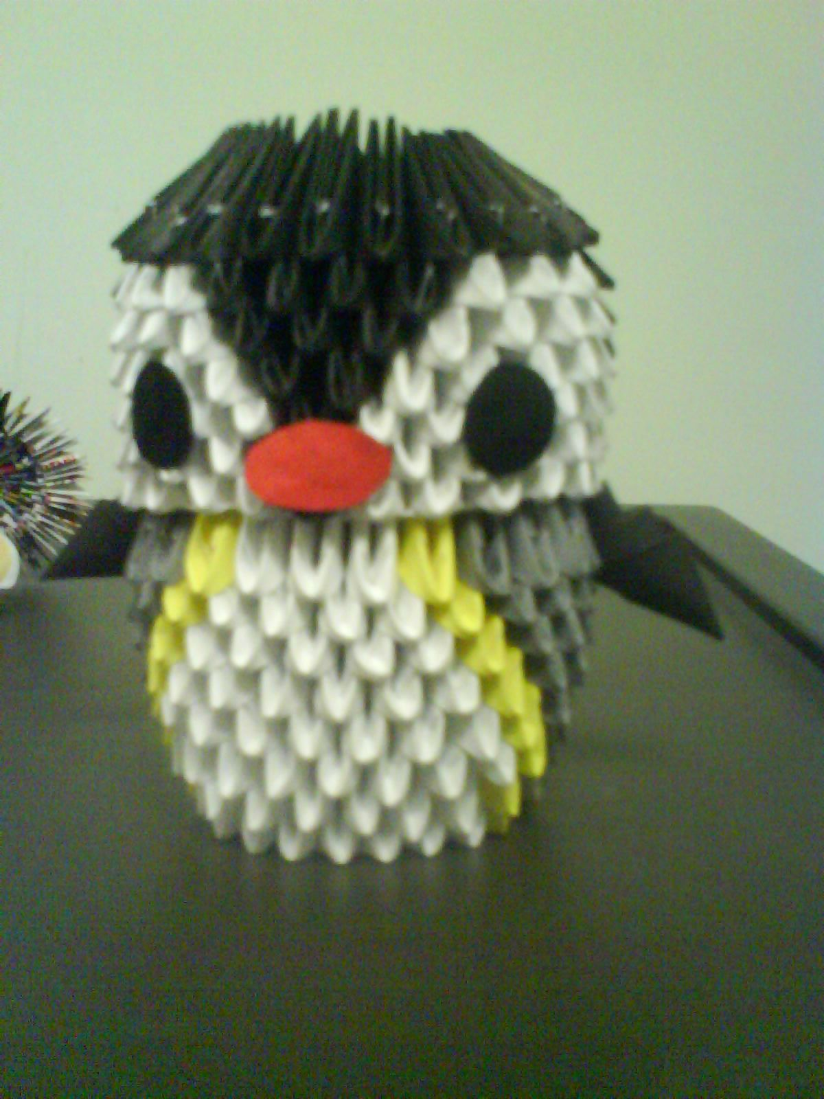3d origami happy feet 3d origami so cool pinterest 3d 3d origami happy feet jeuxipadfo Image collections