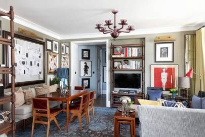 Sitting area view to hall victorian mansion flat front rooms interior design usa also annabel   designer martin brudnizki west london for the rh pinterest