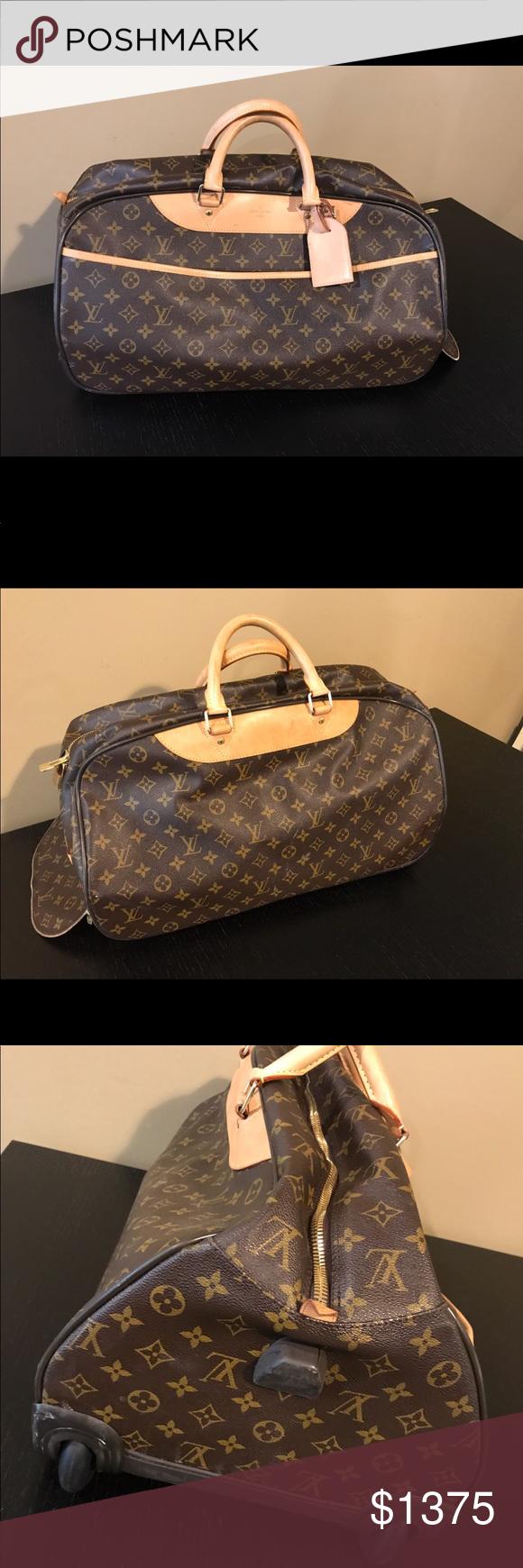 6fc0d4d33b7f Louis Vuitton Eole Monogram Rolling Duffle Bag