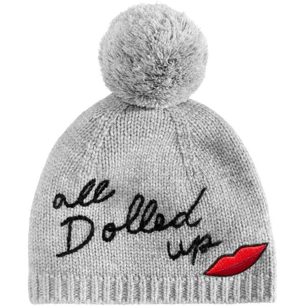 edd4bb4d6c8 kate spade new york All Dolled Up Beanie featuring polyvore