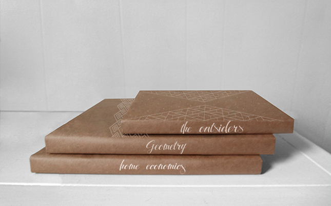Book Cover Paper Zip : New ways to cover your books brown paper crocheted