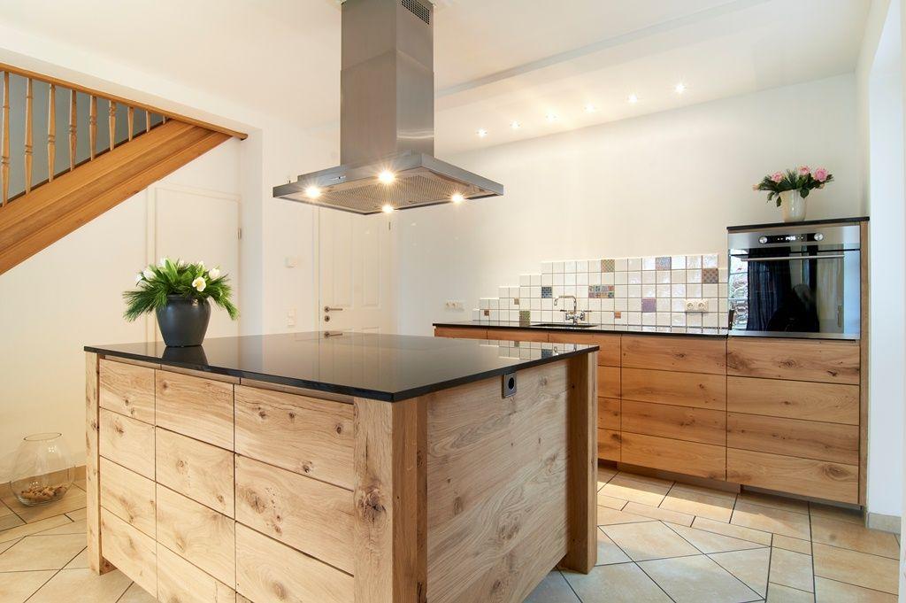 Küche In Eichenoptik | Küche - Essen | Pinterest | Kochinsel