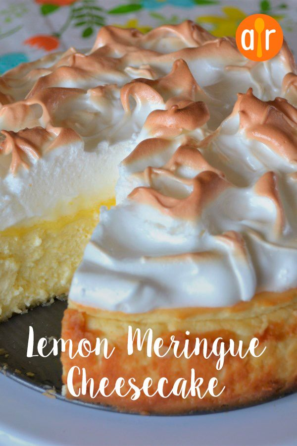 Lemon Meringue Cheesecake #lemonmeringuecheesecake
