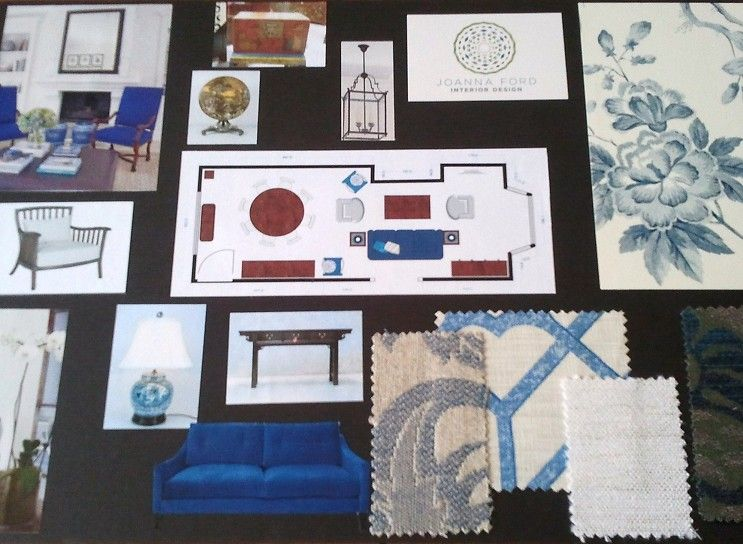 Good Interior Design Concept Board With Boards And Theme