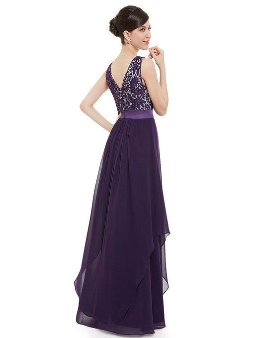 Ever Pretty Elegant Sleeveless Round Neck Evening Party Dress 08217 at Amazon Women's Clothing store: