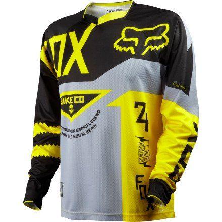 Fox Racing Demo Bike Jersey Long Sleeve Men S Bike Jersey