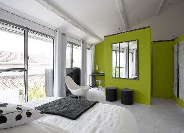 The room painting says yes to the color