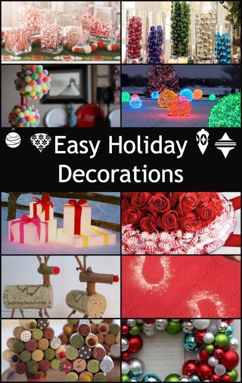 More Easy Holiday Decorations - Princess Pinky Girl Christmas