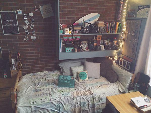 Peachy 20 Incredible Dorm Room Photos For Decoration Inspiration Beutiful Home Inspiration Semekurdistantinfo