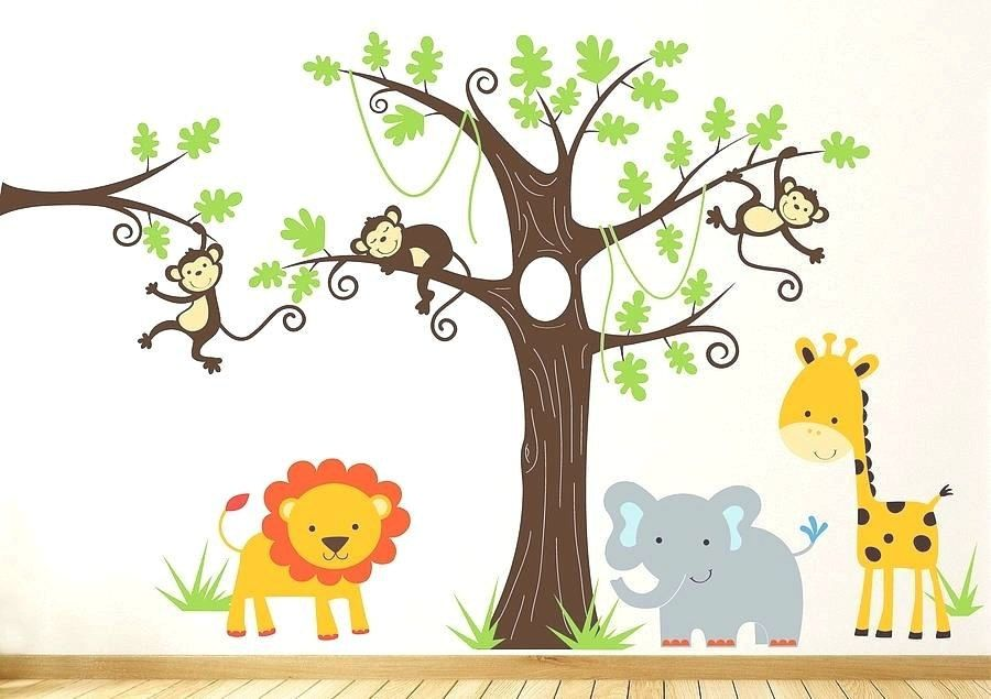 Jungle Book Wall Decals Jungle Wall Stickers Ghsoccer Browse This