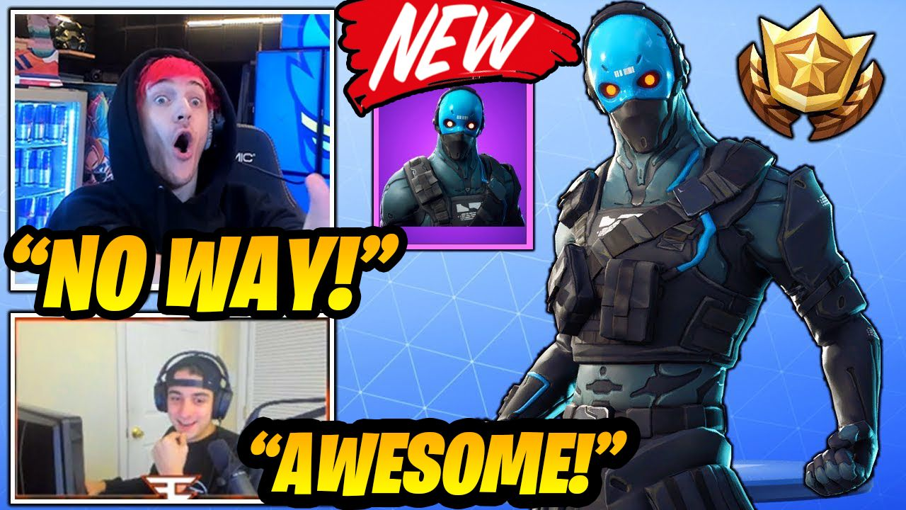 """Streamers react to Starter pack 5 and THE NEW Cobalt skin in Fortnite and they really loved it,Cobalt Skin Fortnite, The New Fortnite Starter Pack season 7 fortnite starter pack 2019.  """"Cobalt StarterPack."""" is among the leaks yesterday, an outfit named Cobalt was revealed. It's an Epic skin that looks like a special ops soldier wearing a cobalt mask with some kind of writing on its forehead.  Starter Packs rotate in and out of the game, and their cosmetics usually return to the Item Shop for hig"""