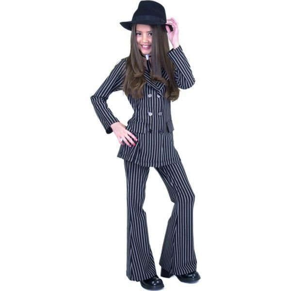 Child\u0027s Double Breasted Gangster Moll Suit Costume Gangsters - ideas for halloween costumes