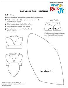 Eared Fox Headband National Wildlife Federation Fox Headband