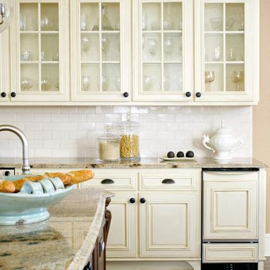 Antique White Painted Kitchen Design Ideas, Pictures, Remodel and