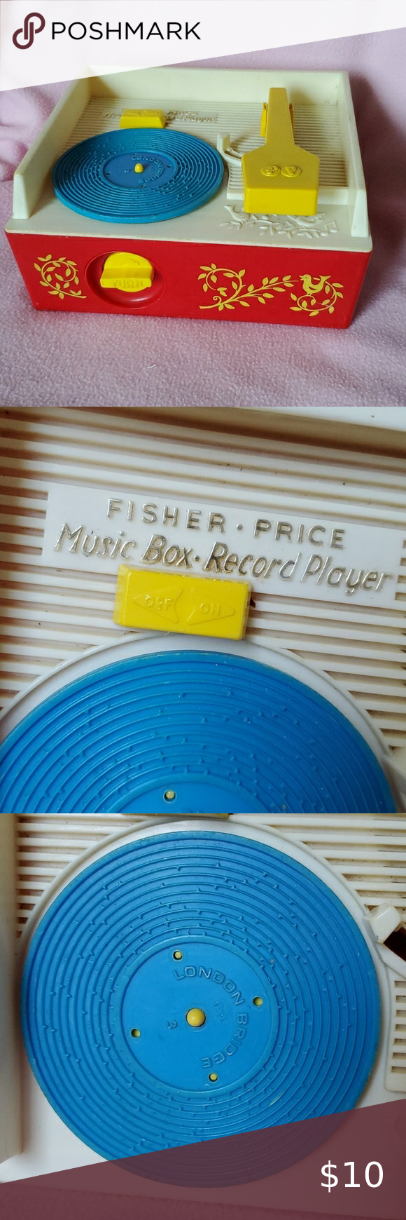 Fisher price Music Box Record Player Music record player for boys or girls with ...